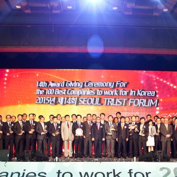 2015 GWP 대한민국 일하기 좋은 100대기업 시상식