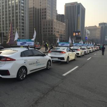 2016 동아일보 서울 국제마라톤대회 차량지원